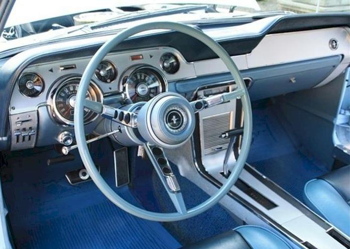 1967 mustang interior