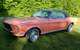 Eastertime Coral 1968 April Color of the Month Sprint Mustang Hardtop