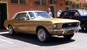 Spanish Gold 1968 Rainbow of Colors Promotional Mustang Hardtop