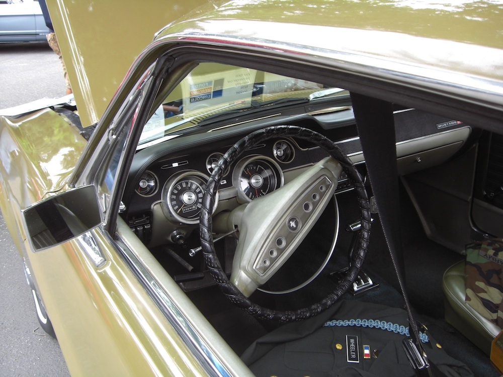 Ivy Gold Interior 1968 Mustang