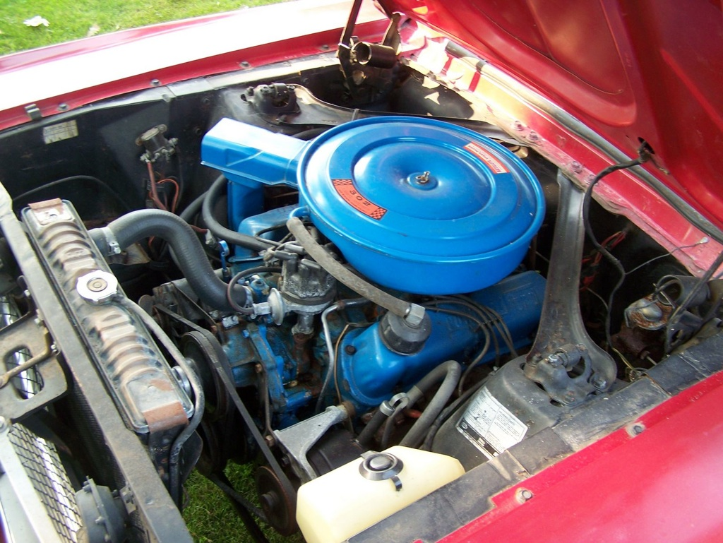 68 Ford Mustang J-code 302ci V8 Engine