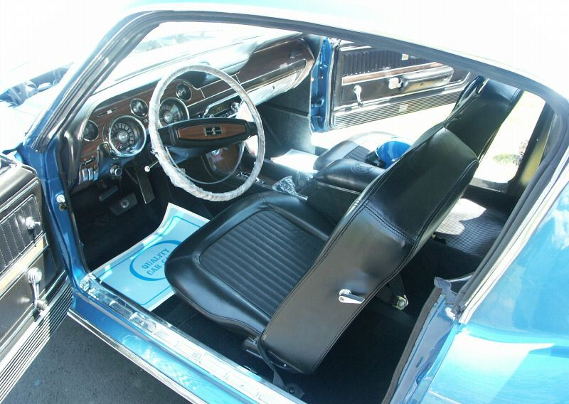 1968 Shelby GT-350 interior view