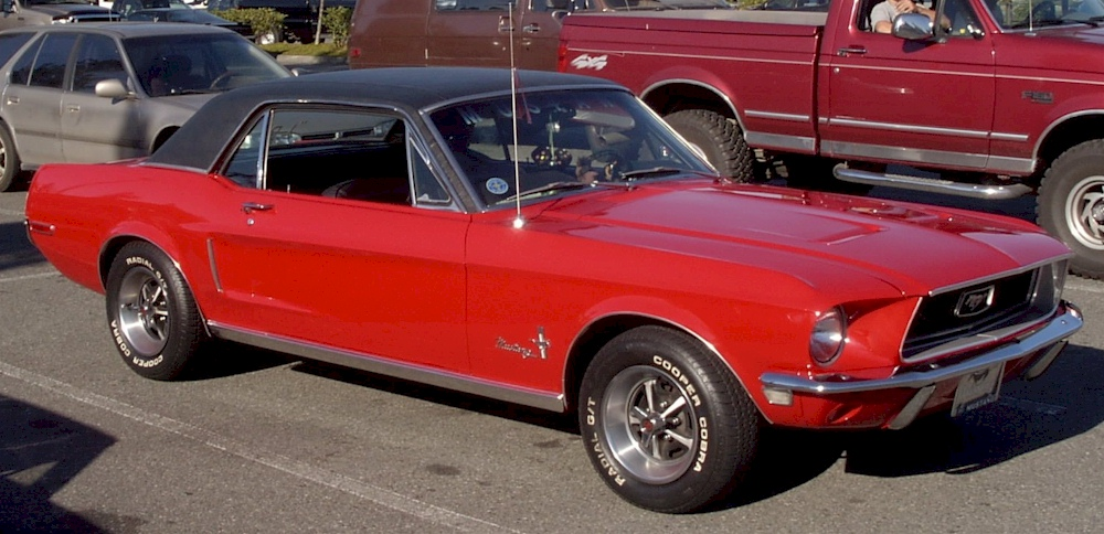 Red 1968 Ford Mustang Hardtop Mustangattitude Com Photo