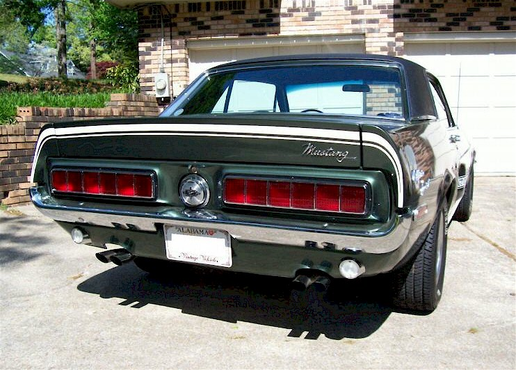 Highland Green 1968 Mustang