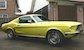 Danelion Yellow 1968 Rainbow of Colors Mustang GT fastback
