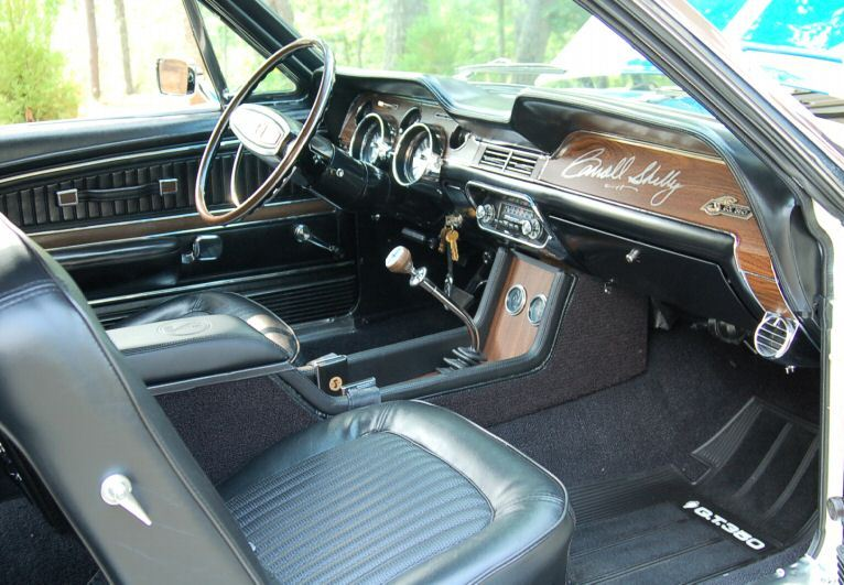 Interior 1968 Mustang Shelby GT-350 Convertible