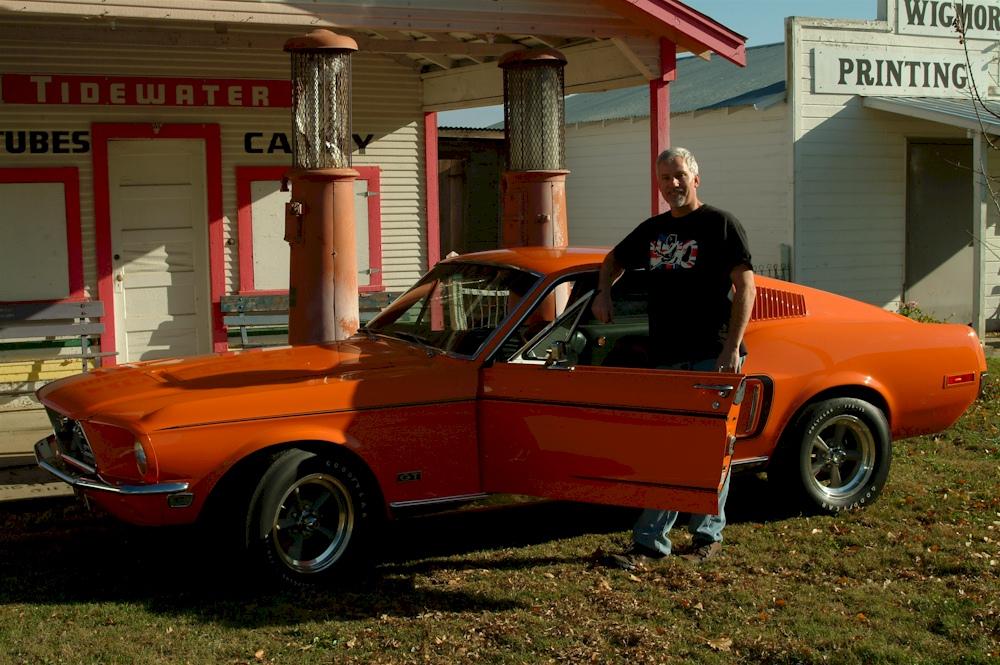 Madagascar Orange 1968 Mustang GT Rainbow Of Colors