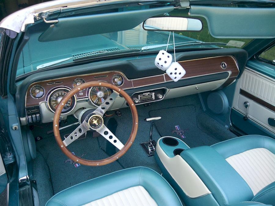 Aqua Teal Classic Car