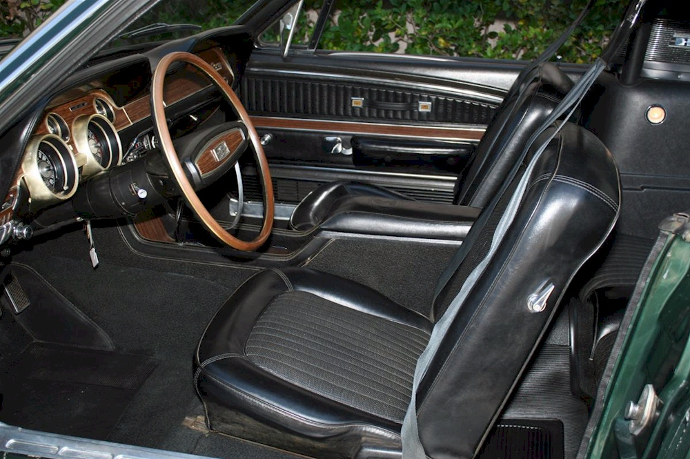 Image Gallery 68 Shelby Interior