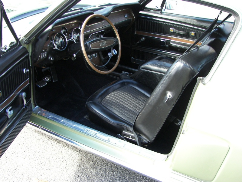 Interior 1968 Shelby GT-500 Fastback