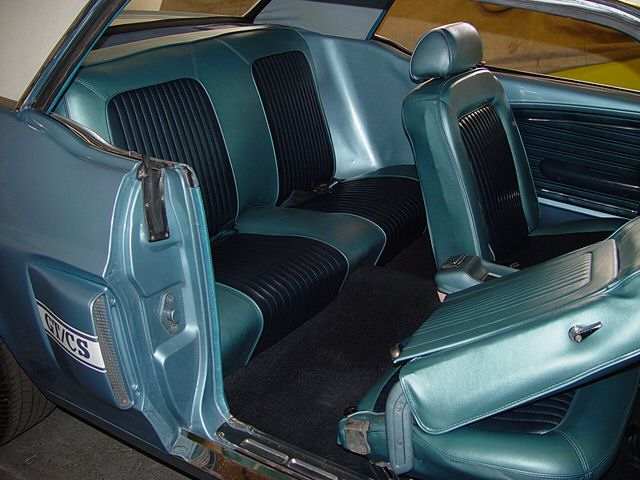 Brittany Blue 1968 Ford Mustang Gt California Special