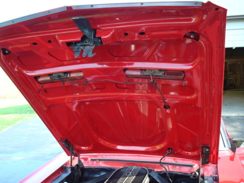 Candy Apple Red 1968 Ford Mustang Gt California Special