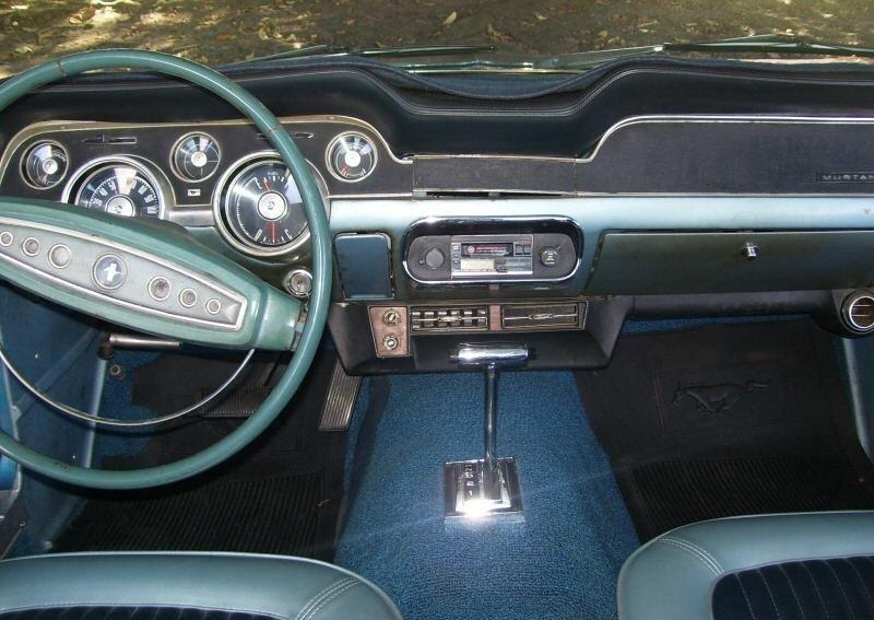 1968 Mustang Dash