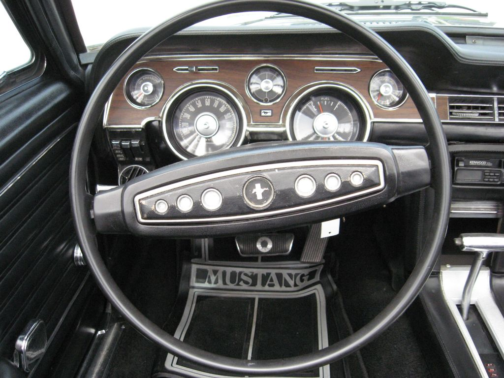 supercharged 1968 mustang