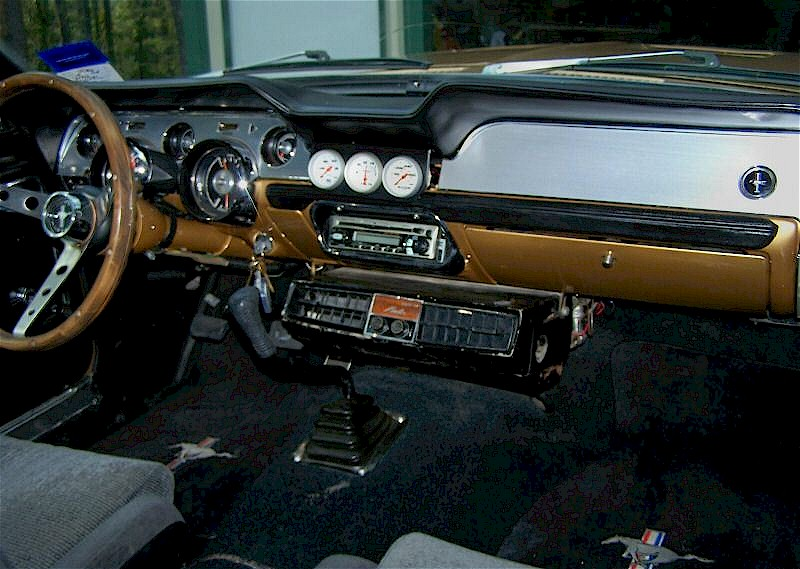 1968 ford mustang radio choice image