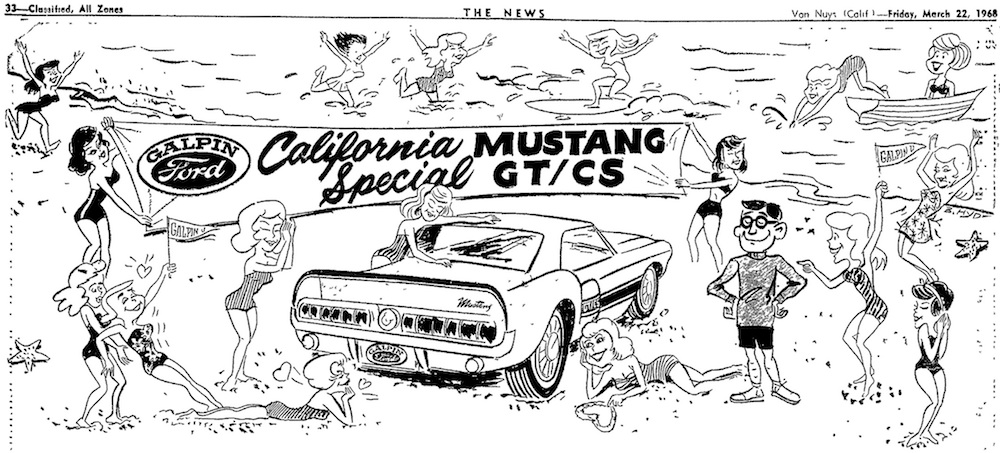 1968 Galpin Ford GTCS Advertisement