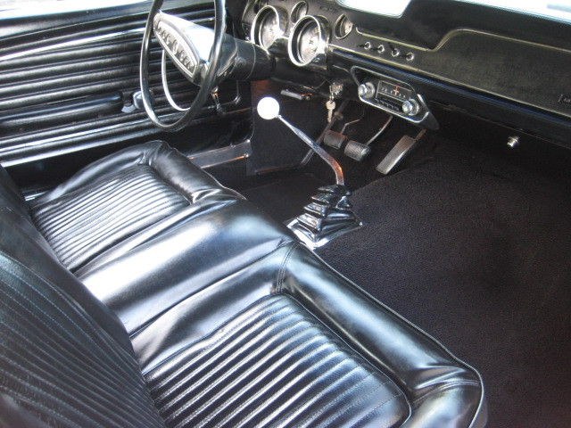 Sunlit Gold 1968 Ford Mustang Fastback Photo Detail