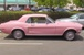 Passionate Pink (Hot Pink) Color of the Month 68 Mustang Hardtop