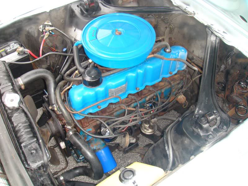 1968 Mustang 6-cylinder Engine