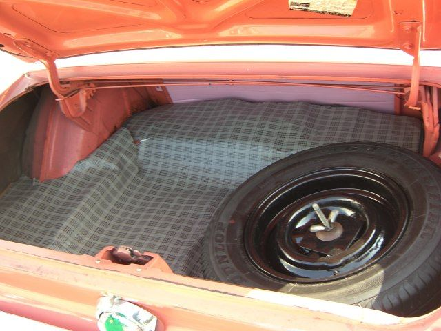 Trunk 1968 Mustang Rainbow of Colors Promotional Hardtop