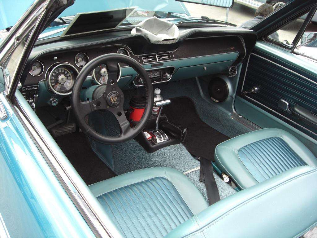 68 Mustang Interior Chad Mcqueen S 1968 Bullitt Mustang Gateway Mustang Brittany Blue 1968