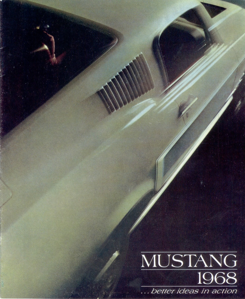 Cover 1968 Ford Mustang Promotional Brochure