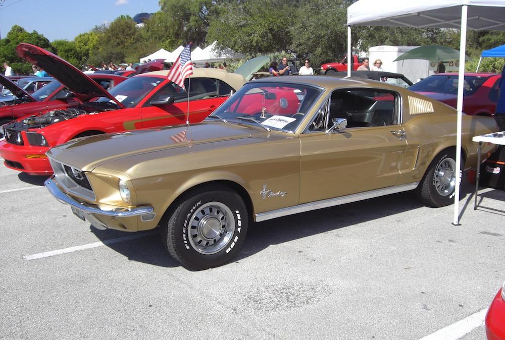 Sunlit Gold 1968 Ford Mustang Fastback Mustangattitude Com Photo Detail