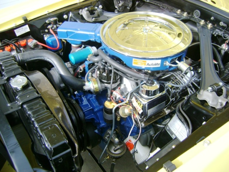 1968 Mustang G-code 302ci V8 Boss Engine
