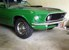 Poppy Green 1969 Rainbow of Colors Mach 1 Fastback