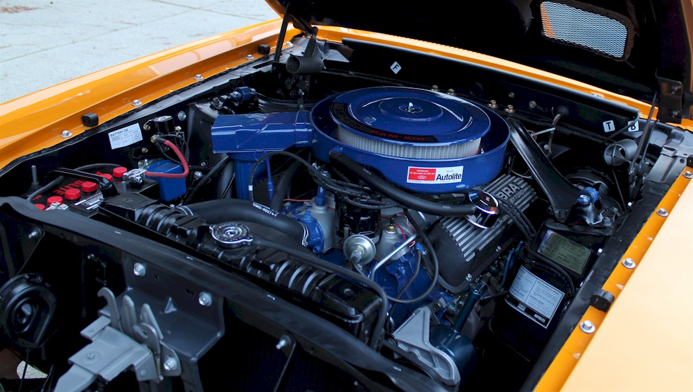 1969 Shelby GT350 Engine