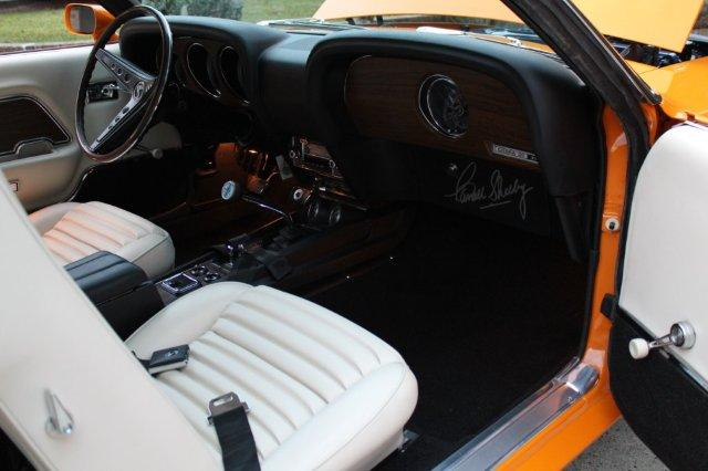 69 Shelby GT350 Interior