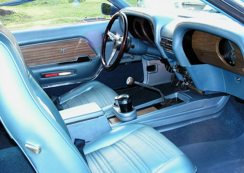 interior view 1969 mustang gt fastback