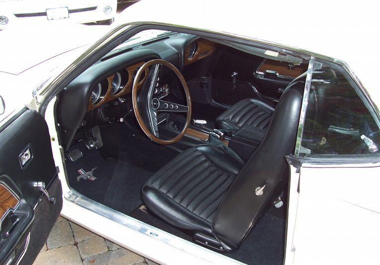 Wimbledon White 1969 Boss 429 Ford Mustang Fastback Photo Detail