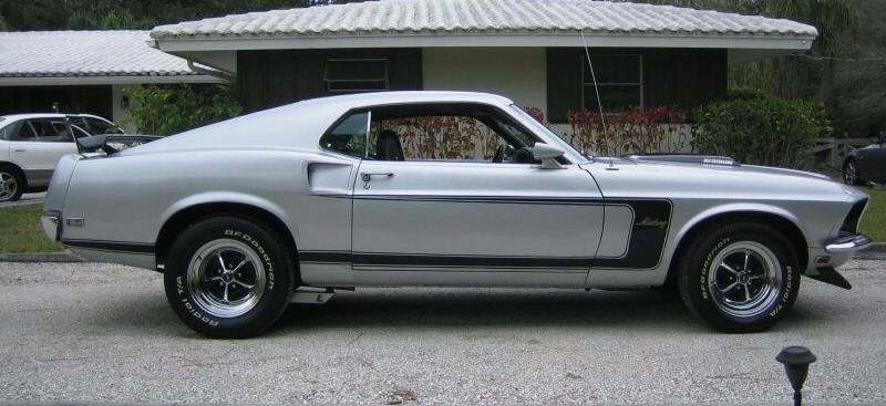 Gray 1969 Ford Mustang Gt Fastback Mustangattitude Com