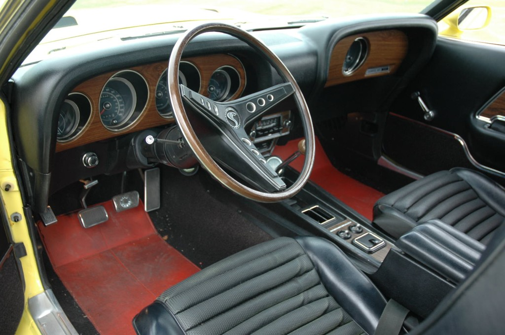 black interior 1969 shelby gt 350 mustang fastback