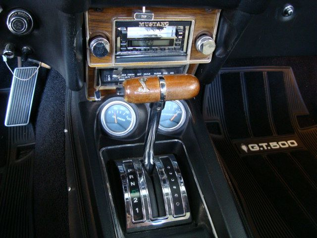 Center Console 1969 Mustang Shelby GT500 Convertible