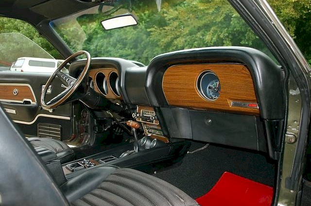 69 Shelby GT-500 Interior
