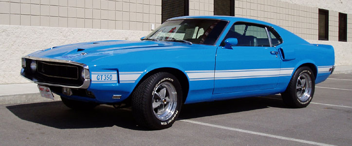Grabber Blue 1969 Ford Mustang Paint Cross Reference