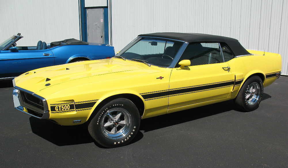 69 Grabber Yellow Shelby GT500 Convertible