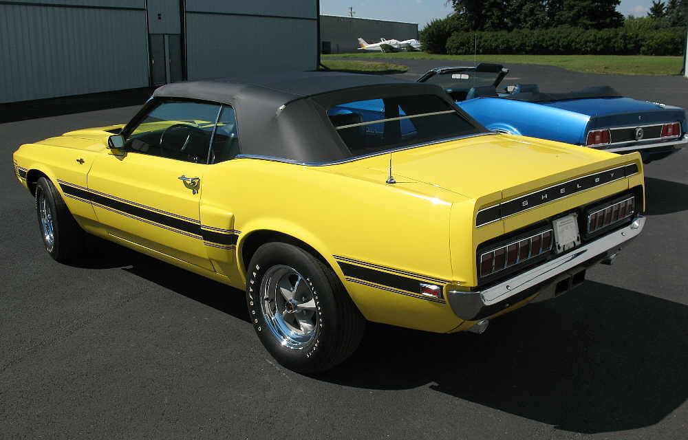 1969 Grabber Yellow Shelby GT500 Convertible