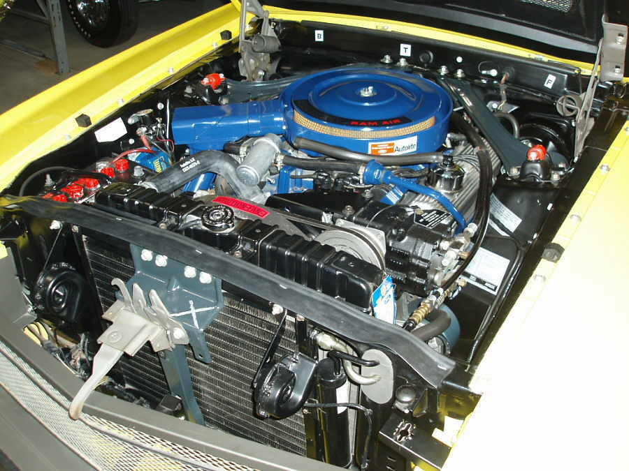 1969 Shelby GT500 R-code 428ci V8 Engine