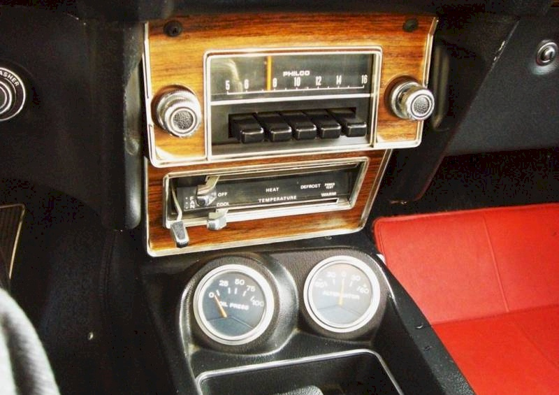 69 mustang gauges pastel gray 1969 ford mustang shelby gt