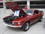 Indian Fire Red 69 Mustang Mach 1 Fastback