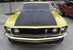 Bright Yellow 69 Mustang Boss 302 Fastback