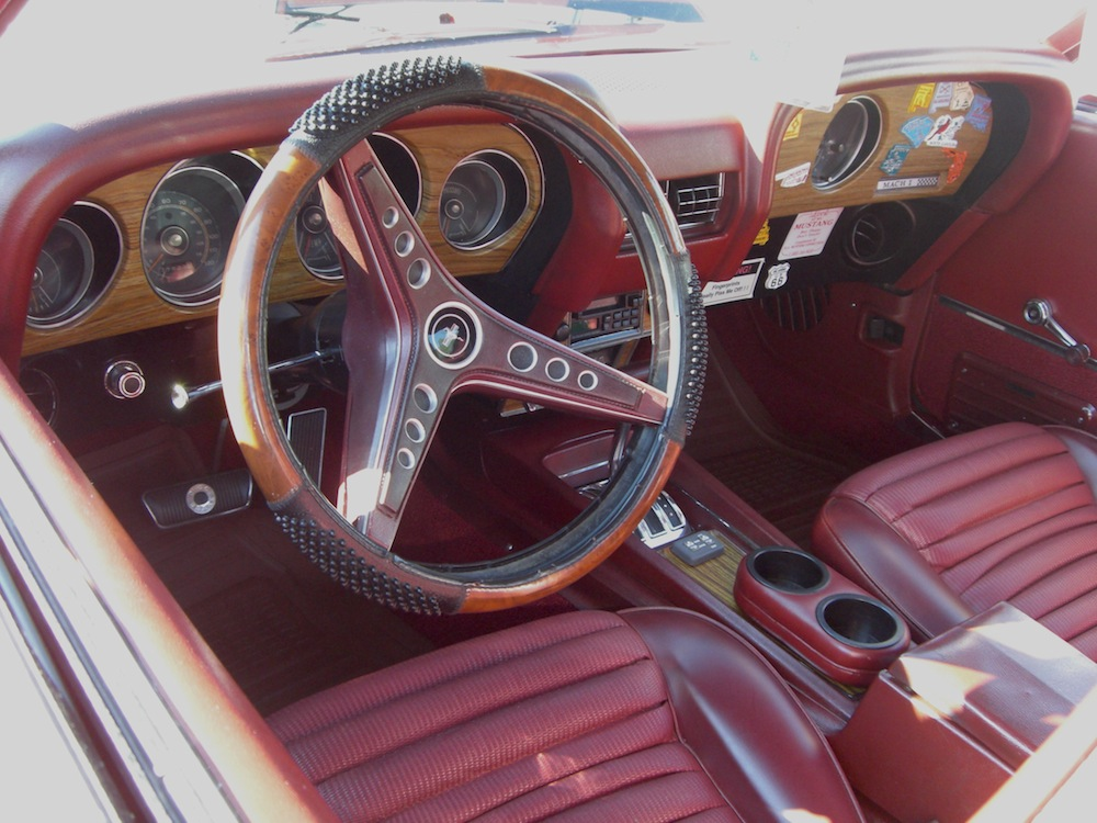 Candy Apple Red 1969 Mach 1 Ford Mustang Fastback Mustangattitude Com Photo Detail