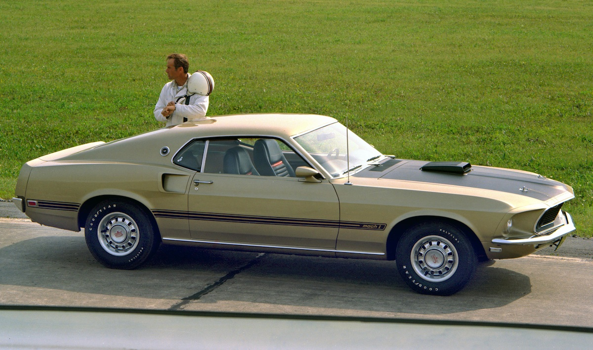Champagne Gold 1969 Mustang Mach 1