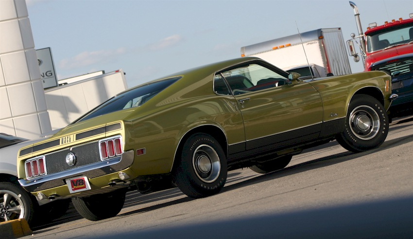 Medium Lime 1970 Mach 1