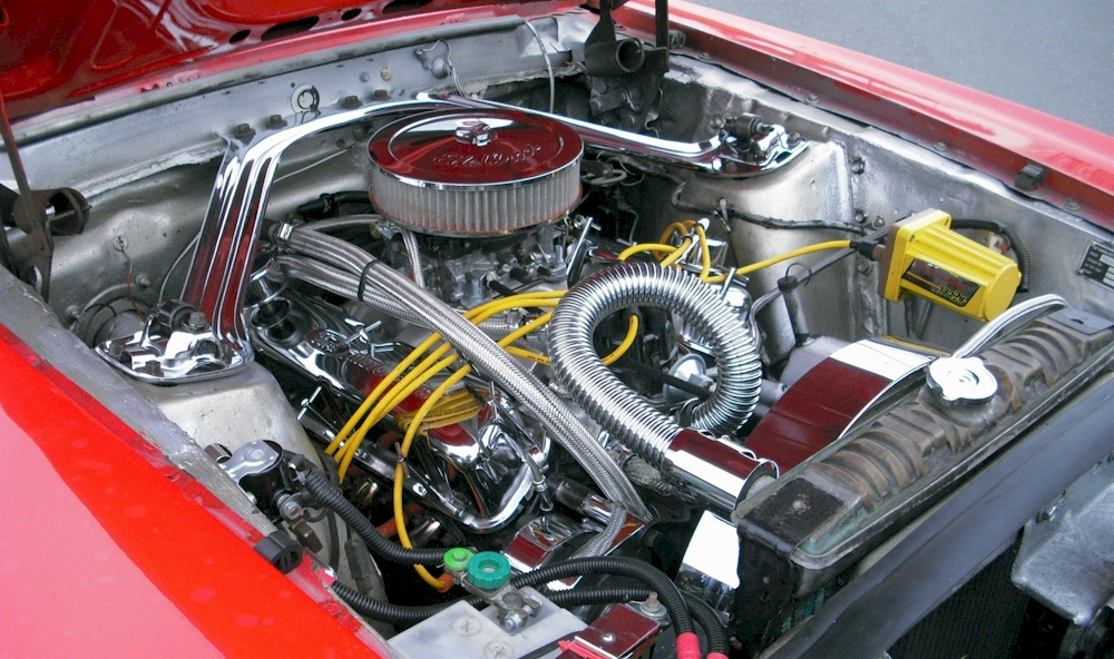 1970 Mustang Engine
