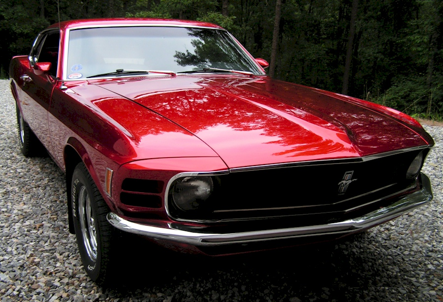 Red 1970 Ford Mustang Fastback Mustangattitude Com Photo