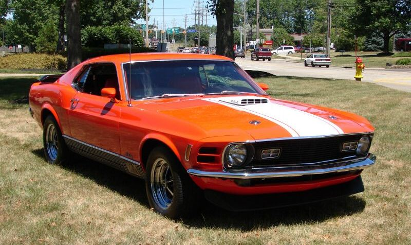 Calypso Coral 1970 Mustang Mach 1 Fastback